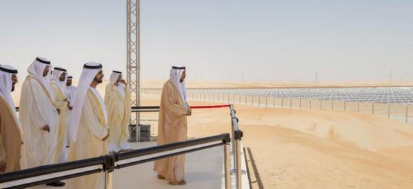 UAE Opens First 100MW Solar Plant