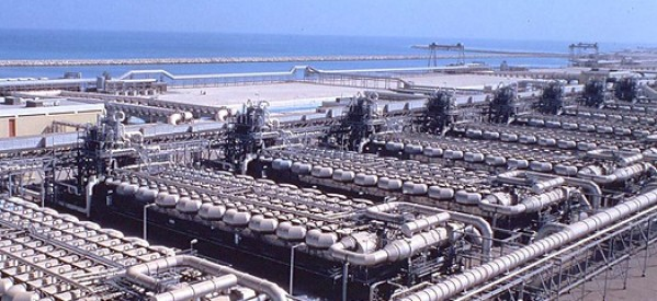 Saudi Arabia Award Veolia with Desalination Plant