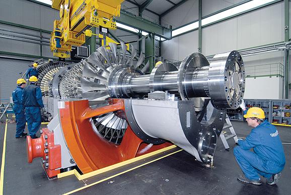 Siemens SGT5-8000H gas turbine